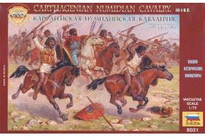 Wargames (AoB) figurky 8031 - Carthagenian Numidian Cavalry (1:72)