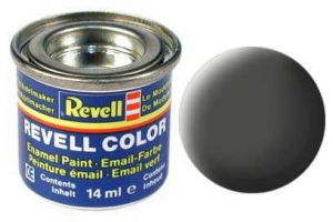 Barva Revell emailová - 32165: matná bronzově zelená (bronze green mat)