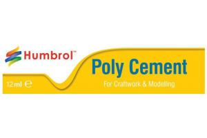 Humbrol Poly Cement Medium - lepidlo na plasty 12ml tuba - AE4021