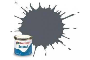 Humbrol barva email AA1376 - No 125 US Dark Grey - Satin - 14ml
