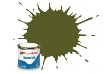 Humbrol barva email AA1612 - No 149 Dark Green - Matt - 14ml