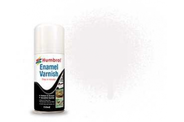 Humbrol sprej email lak AD6998 - No 49 Varnish Matt 150ml