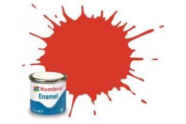 Humbrol barva email AA1897 - No 174 Signal Red - Satin - 14ml