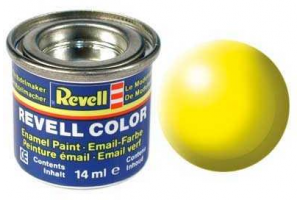Barva Revell emailová - 32312: hedvábná světle žlutá (luminous yellow silk)