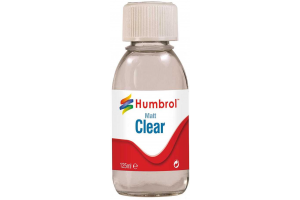 Humbrol Clear - Matt - lak 125ml - AC7434
