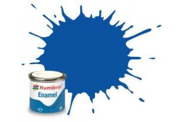Humbrol barva email AQ0160 - No 14 French Blue - Gloss - 50ml