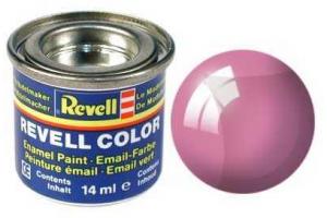 Barva Revell emailová - 32731: transparentní červená (red clear)