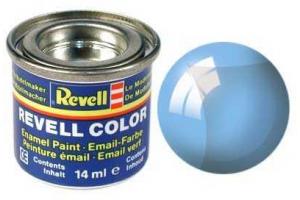 Barva Revell emailová - 32752: transparentní modrá (blue clear)