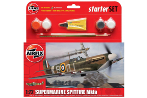 Supermarine Spitfire MK1a (1:72) - A55100