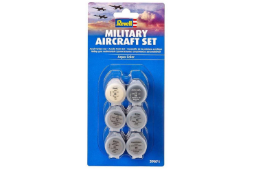 Sada barev Aqua Color 39071 - Military Aircraft Set