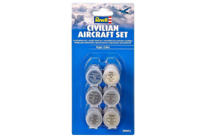 Sada 39072 - Civilian Aircraft Set - aqua