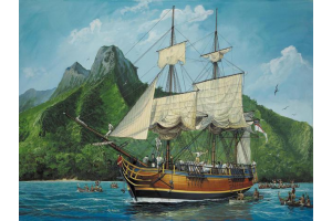 H.M.S. Bounty  (1:110) - 05404
