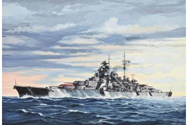 Battleship Bismarck (1:700) - 05098