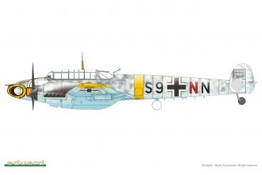 Bf 110E 1:72 - 7419