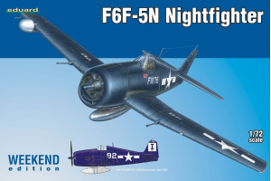 F6F-5N Nightfighter 1:72 - 7434