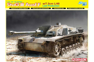 Model Kit tank 6756 - StuG.III Ausf.F w/7.5cm L/48 Last Production (Smart Kit) (1:35)