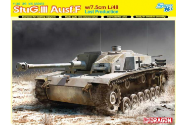 Model Kit tank 6756 - StuG.III Ausf.F w/7.5cm L/48 Last Production (Smart Kit) (1:35)