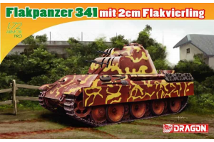 FLAKPANZER 341 mit 2cm FLAKVIERLING (1:72) - 7487