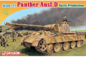 Model Kit tank 7494 - Sd.Kfz.171 PANTHER D EARLY PRODUCTION (1:72)
