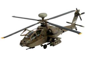 Plastic ModelKit vrtulník 04046 - AH-64D Longbow Apache (1:144)
