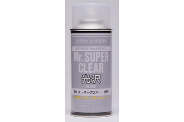 Mr. Super Clear Flat - lak lesklý 170ml - B513