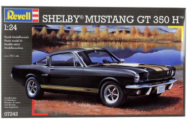 Plastic ModelKit auto 07242 - Shelby Mustang GT 350 H (1:24)