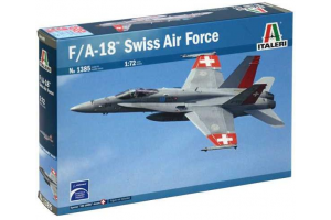 F/A 18 SWISS AIR FORCE (1:72) - 1385