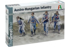 Model Kit figurky 6528 - WWI AUSTRO-HUNGARIAN INFANTRY (1:35)