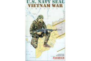 Model Kit figurky 1607 - U.S.NAVY SEAL, VIETNAM WAR (1:16)