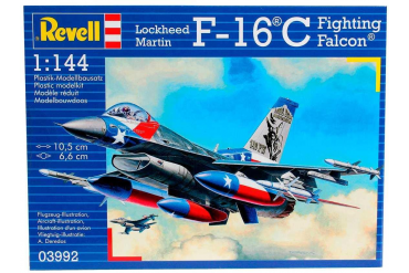 Plastic ModelKit letadlo 03992 - Lockheed Martin F-16C Fighting Falcon (1:144)