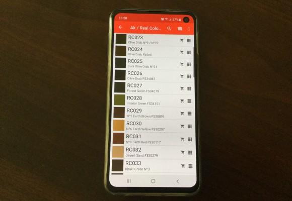 Hobby Color Converter – převodník barev pro Android