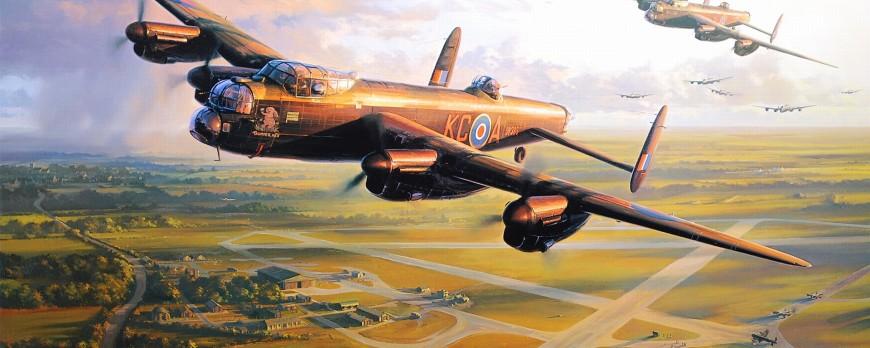 Avro Lancaster, krok za krokem - část 2: Barvení a hlavní konstrukce